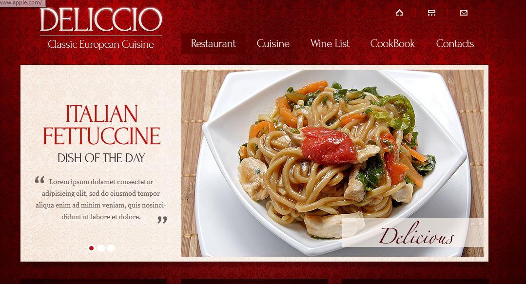 Hazır Restaurant Site Teması