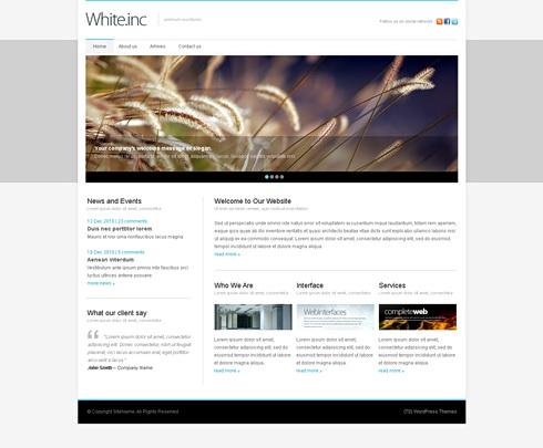 ücretsiz web psd temaları