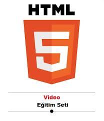 html5 ile web sayfa tasarımı anlatılmıştır