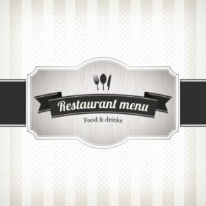 restaurant cafe menü örnekleri