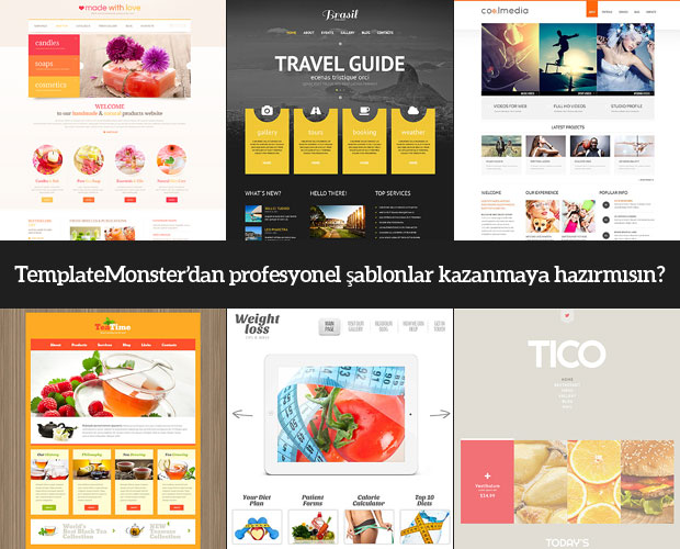 Template Monster'dan Tema Kazananlar