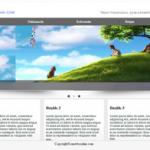 free, ücretsiz html css web sayfa tasarım örneği