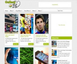 Gallery3s-Blogger-Template