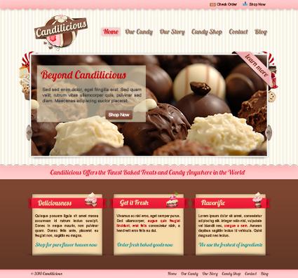 Örnek PSD Web Tasarımı -2