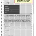 Mobil Web Sayfası Oluşturma İşlemi