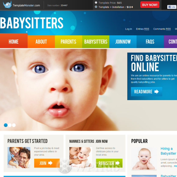 babysitters-templatemonster-home_2522_2-580x580