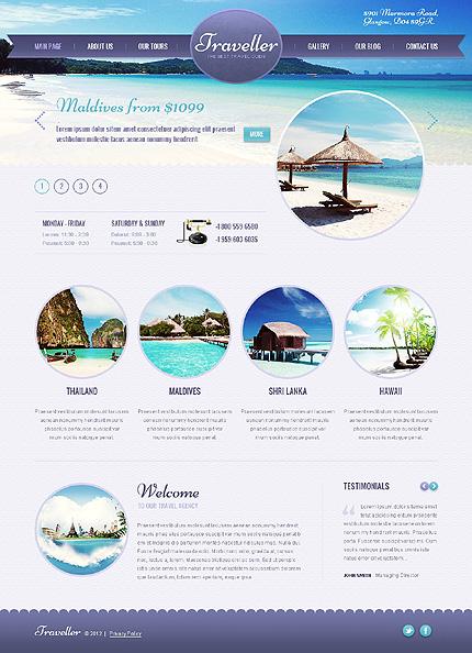 Rüya Gibi Bir Yolculuk İçin 10 WordPress Seyahat Teması
