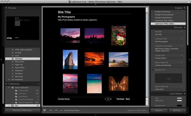 Adobe Bridge ve Dreamweaver Kullanarak Web Galeri Yapımı