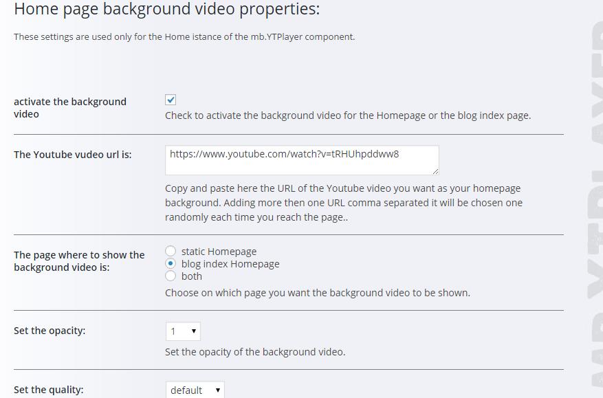 wordpress arka planda video oynatma eklentisi