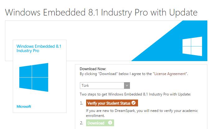 Öğrencilere Bedava Windows 8.1 Pro