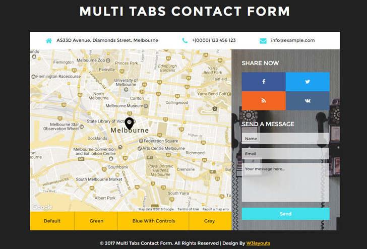 Ücretsiz İletişim Formu Tasarımları