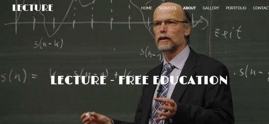 Haftanın Ücretsiz Responsive Eğitim (Üniversite-Lise-İlköğretim) Teması#21