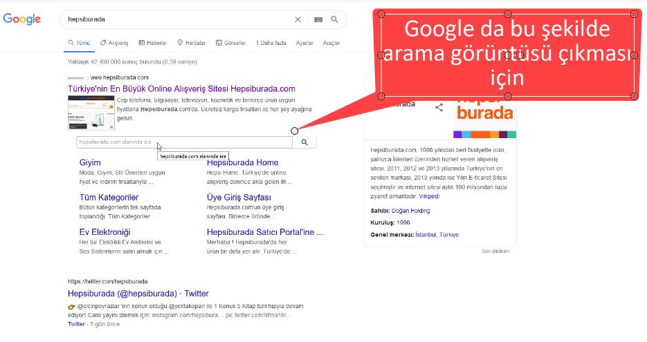 Google Sonuçları İçin Site İçi Arama İşlemi Nasıl Yapılır?